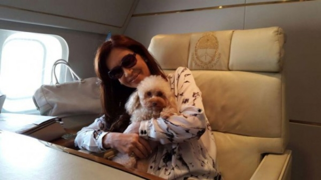"Cristina Fernández de Kirchner y ""Lola"""
